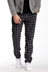 Gilded Age Plaid Pant Black