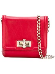 Lanvin 'Happy' Shoulder Bag Red