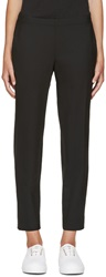 6397 Black Tapered Trousers