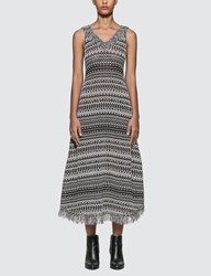 Loewe Lurex Knit Dress Black