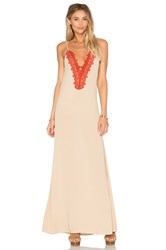 Blue Life Bonita Slip Dress Beige