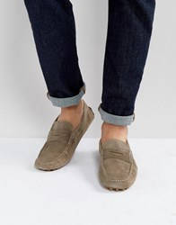 Tommy Hilfiger Suede Loafers Beige