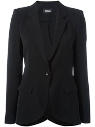 Moohong Draped Blazer Black