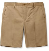 Norse Projects Haga Technical Cotton Blend Twill Shorts Beige