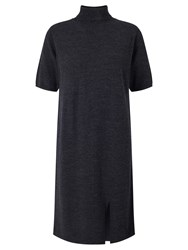 Numph Maney Merino Wool Dress India Ink