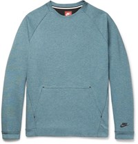 Nike Cotton Blend Tech Fleece Sweatshirt Blue