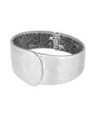 The Sak Overlap Bangle Bracelet Silver
