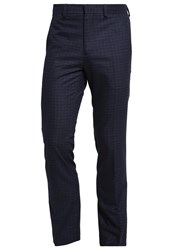 Kiomi Suit Trousers Navy Dark Blue