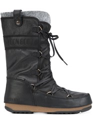 Moon Boot 'We Monaco Mix' Boots Black