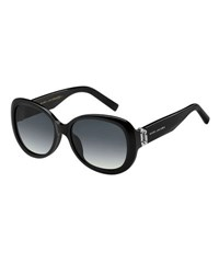 Marc Jacobs Gradient Acetate Butterfly Sunglasses Black