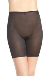 Women's Spanx 'Skinny Britches' Mid Thigh Shaper Very Black