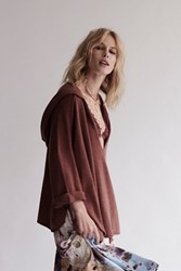 Free People Womens Soft As A Whisper Hoodie