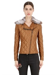 Matchless London Grimsby Quilted Satin Nylon Down Jacket