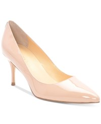 Ivanka Trump Tirra Pointy Toe Pumps Women's Shoes Light Blush Patent