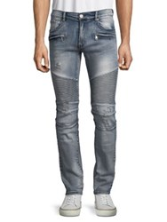 Reason Pines Distressed Jeans Blue