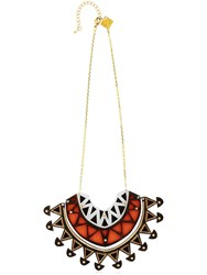 Anisha Parmar London Ivory Collection Half Circle Necklace