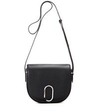 3.1 Phillip Lim Alix Saddle Leather Cossbody Bag Black