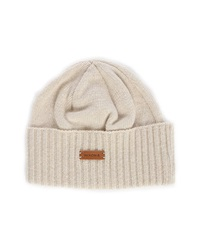 Nixon Beige Lux Recycled Cashmere Hat Made In Canada