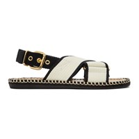 Marni Off White Fussbett Sandals