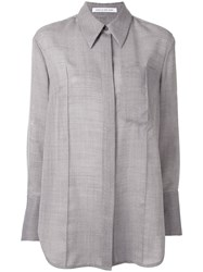 Camilla And Marc Chloe Pointed Collar Shirt Grey