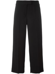 Dkny Cropped Trousers Black