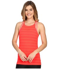 Onzie High Neck Tank Top Watermelon Women's Sleeveless Pink