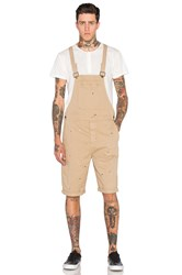 Rolla's Trade Overall Short Tan