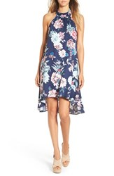 Minkpink Women's 'Little Blossom' Floral Print Halter Swing Dress