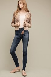 Anthropologie Ag Farrah High Rise Skinny Jeans Denim Medium Blue