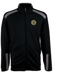Antigua Men's Boston Bruins Flight Jacket