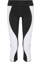 Athletic Propulsion Labs Gazelle Cropped Stretch Leggings Black