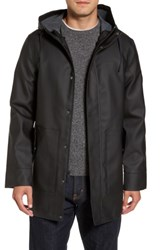 Uggr Men's Ugg Hooded Raincoat Black