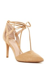 Vince Camuto Bellamy Pointy Toe Pump Beige