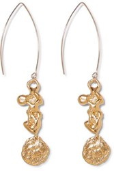 Alighieri Gold Plated Earrings One Size