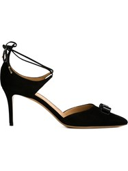 Salvatore Ferragamo 'Carolyn' Pumps Black