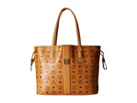 Mcm Liz Medium Shopper Cognac Handbags Tan