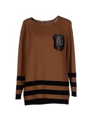 Tua Nua Sweaters Brown