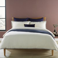 Christy Santa Fe Duvet Set Ink Blue White