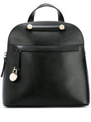 Furla Zipped Backpack Black