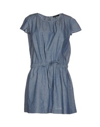 Mariella Rosati Dresses Short Dresses Women Blue