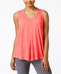 Calvin Klein Performance Cold Shoulder Tank Top Psycho Red