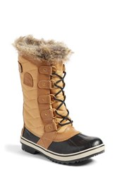 Sorel Women's 'Tofino Ii' Faux Fur Lined Waterproof Boot Curry