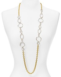 Stephanie Kantis Loop Chain Necklace 42 Twotone