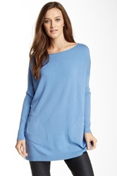 Luma Lightweight Loose Fit Sweater Blue