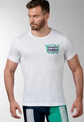 Reebok Crossfit Games Fittest On Earth Sports Shirt White