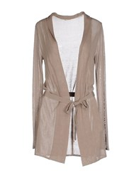 Marella Knitwear Cardigans Women Light Brown