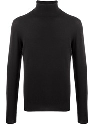 Peuterey Ribbed Roll Neck Jumper Black