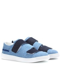 Acne Studios Triple Denim Sneakers Blue