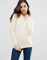Sugarhill Boutique Nora Fluffy Jumper Cream
