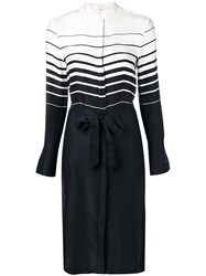 Equipment Belted Shirt Dress Blue